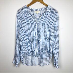 Anthropologie Cloth & Stone Button Down Shirt